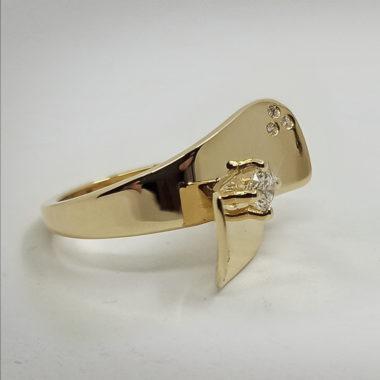 L'anello Butterfly realizzato interamente da remoto con il cliente