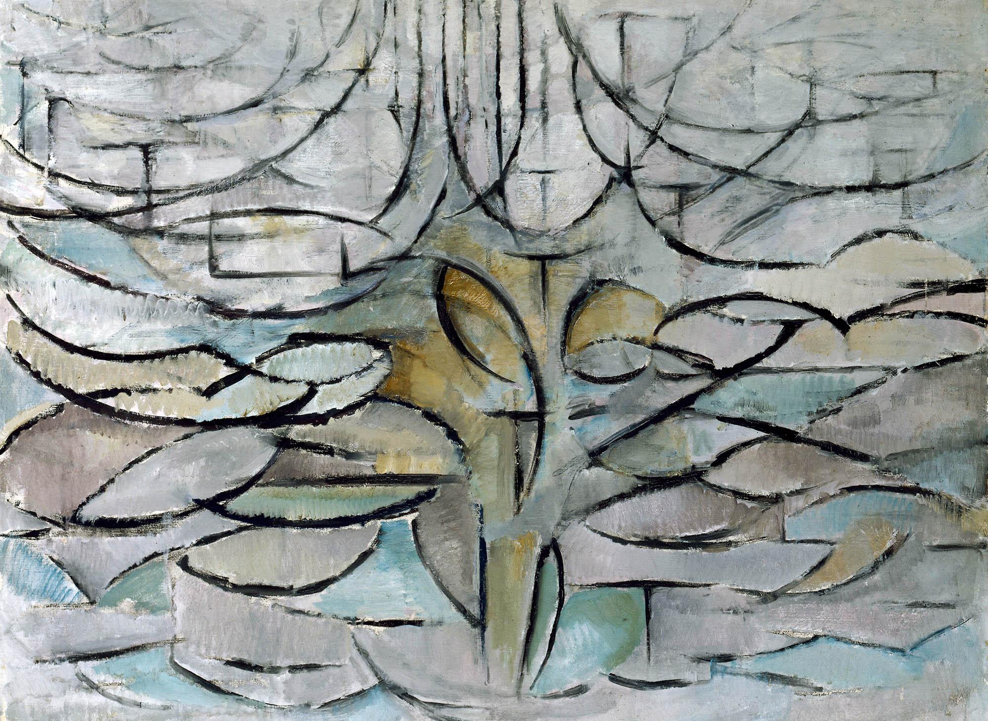 Melo in fiore di Mondrian